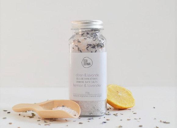 Sel de Bain Citron et Lavande