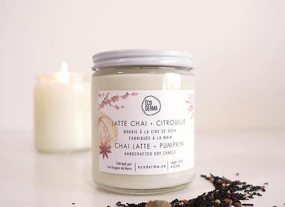 Bougie Latte Chai + Citrouille