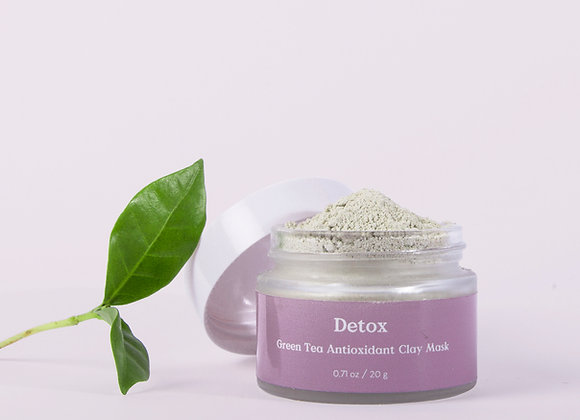 Masque à l'argile au thé vert Detox