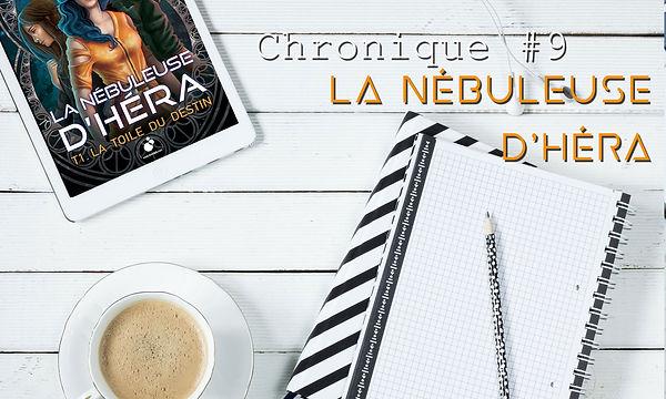 La Tasse ébréchée, chronique, La Nébuleuse d'Héra, Lydie Wallon
