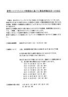 4/17 緊急事態宣言の対応について