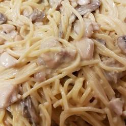 Creamy Chicken and Mushroom Spaghetti.jp