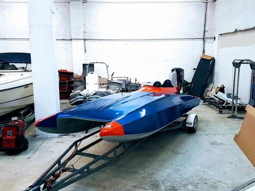 Verdens raskeste 3B båt klar for sesongen