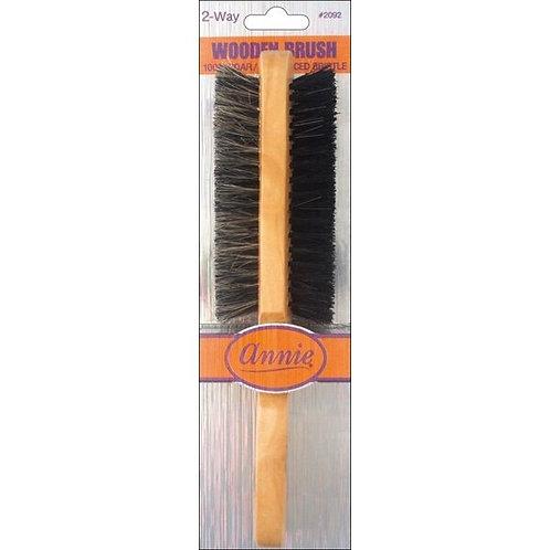 Annie Wooden 2 Way Brush #2092