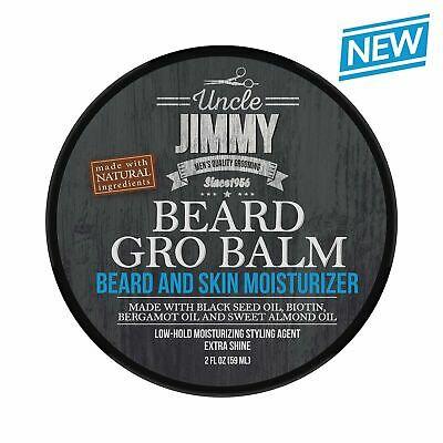 Uncle Jimmy Beard Gro Balm