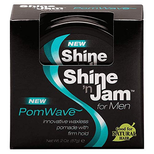 Shine 'Jam for Men PomWave Pomade with firm hold