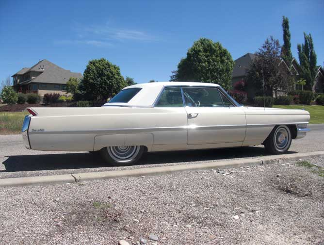 64 Cadillac Rear Right Prof