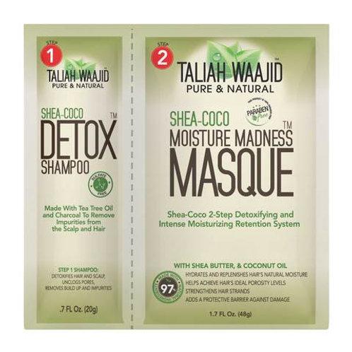Taliah Waajid Shea Coco Detox Shampoo and Moisture Madness Masque Packet