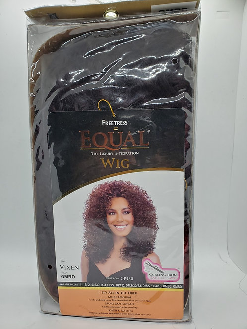 Freetress Equal Wig Style: Vixen Color: OMRD