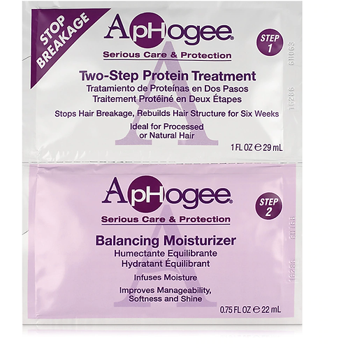 Aphogee Two-Step Protein Treatment & Balancing Moisturizer