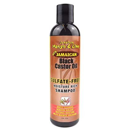 Jamaican Mango & Lime Black Castor Oil Sulfate-Free Moisture Rich Shampoo