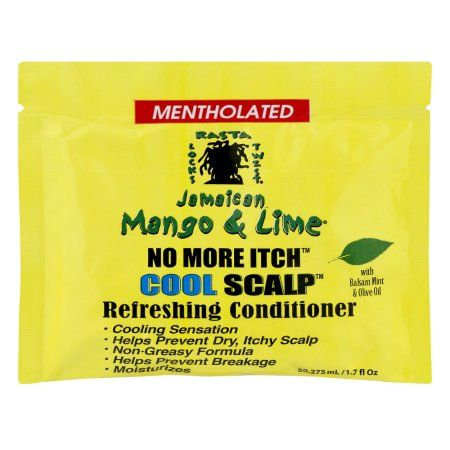 Mentholated Jamaican Mango & Lime No More Itch Cool Scalp Refreshing Conditioner
