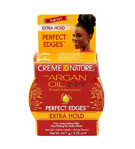 Cream Of Nature Argan Oil Perfect Edges Extra Firm Hold