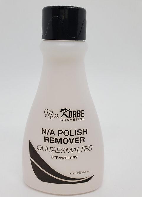 Nail Polish Remover Miss Korbe Cosmetics 4 oz