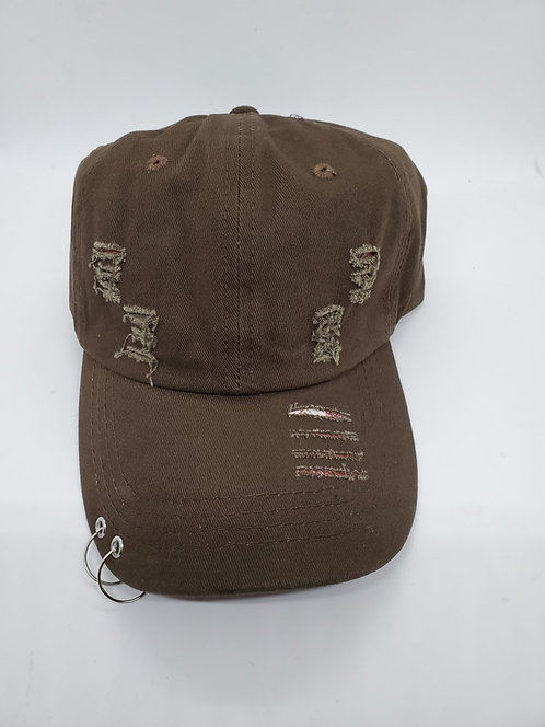 Brown Cap with ring