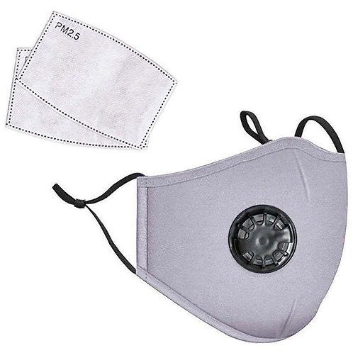 LANDOU Reusable Fabric Face Mask (Adults-Non Medical) Grey