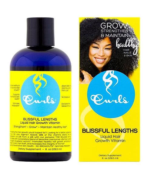 Curls Blissful Lengths Liquid Hair Grow Hair Vitamin