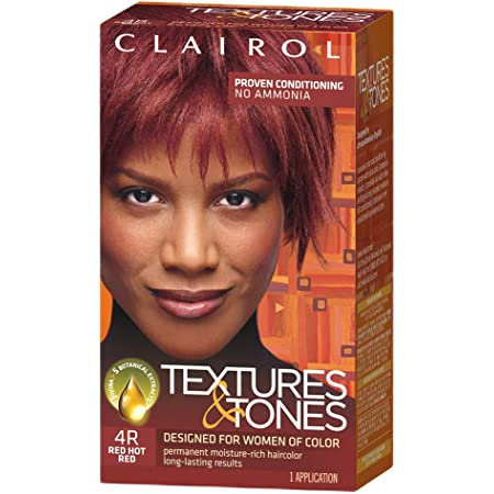 Clairol Textures & Tones 4R Red Hot Red