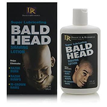 Daggett Ramsdell Super Lubricating Bald Head Shaving Lotion 4 oz