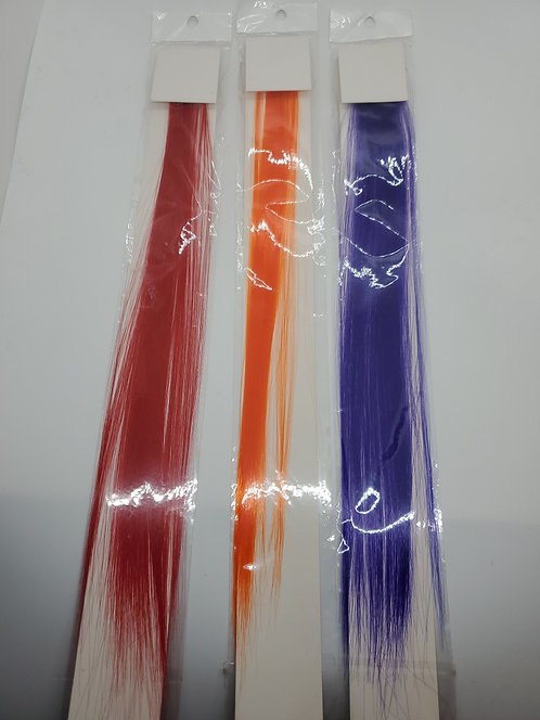 Colored Hair Extension Clip Multiple Colors
