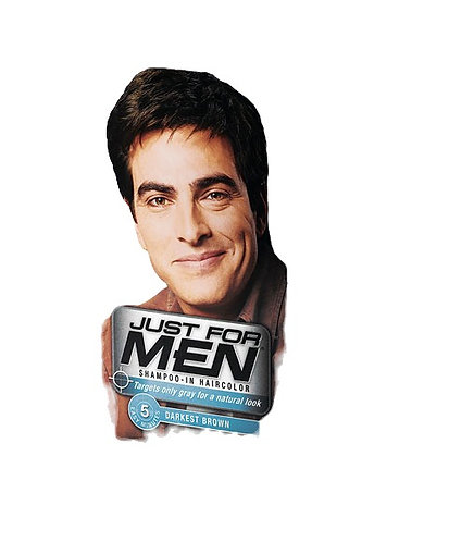 Just For Men H-50 Darkest Brown Shampoo-In Haircolor