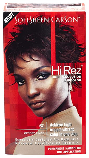 SoftSheen Carson Hi Rex Hair Color 60 Amber Twist