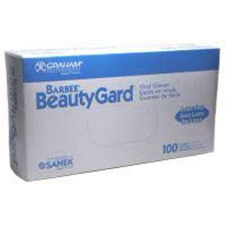 Barber BeautyGard Vinyl Gloves Small