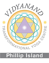 Vidyanand Transformational Yoga - Logo -