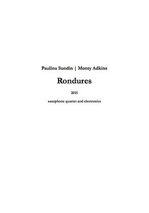 Paulina Sundin & Monty Adkins - Rondures