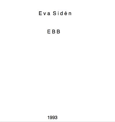 Eva Sidén EBB