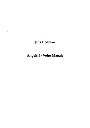 Jens Hedman - Angels 1 - Vohu Manah