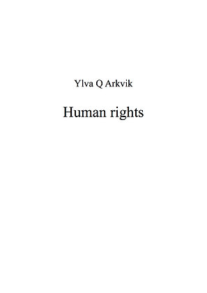 YLVA Q ARKVIK: Human rights