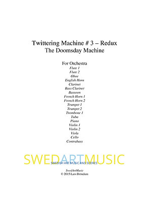 Lars Bröndum - Twittering Machine #3 Redux (Parts)