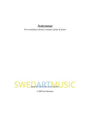 Lars Bröndum - Antennae Quartet