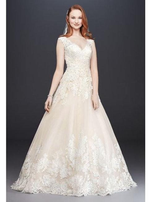 David's Bridal SZ 2P
