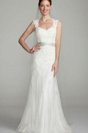 David's Bridal SZ 2