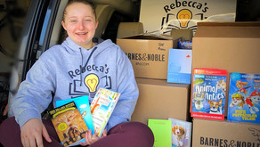 Barnes and Noble Cherry Hill Sponsors Rebecca's Mission