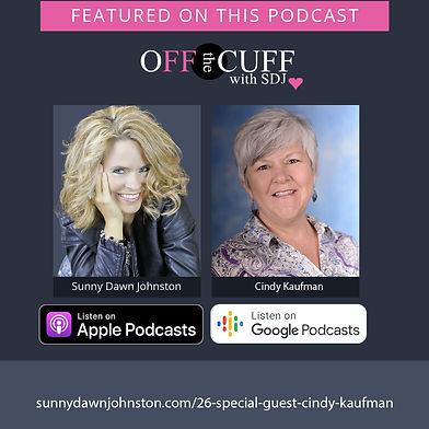 Cindy-Kaufman-FeaturedOnPodcast-Facebook