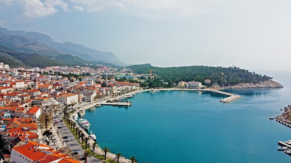 Love Locks in Makarska, center of Makarska Riviera