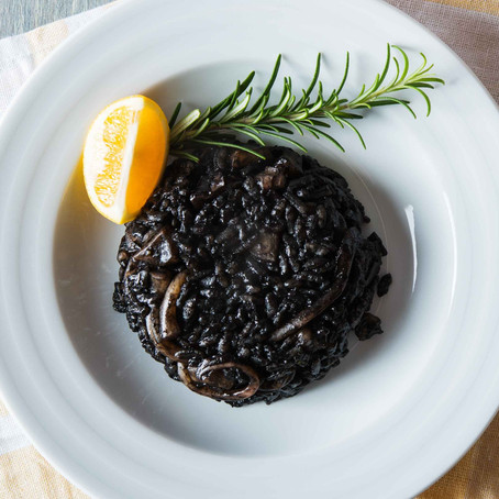 Black risotto - a beginners' guide!
