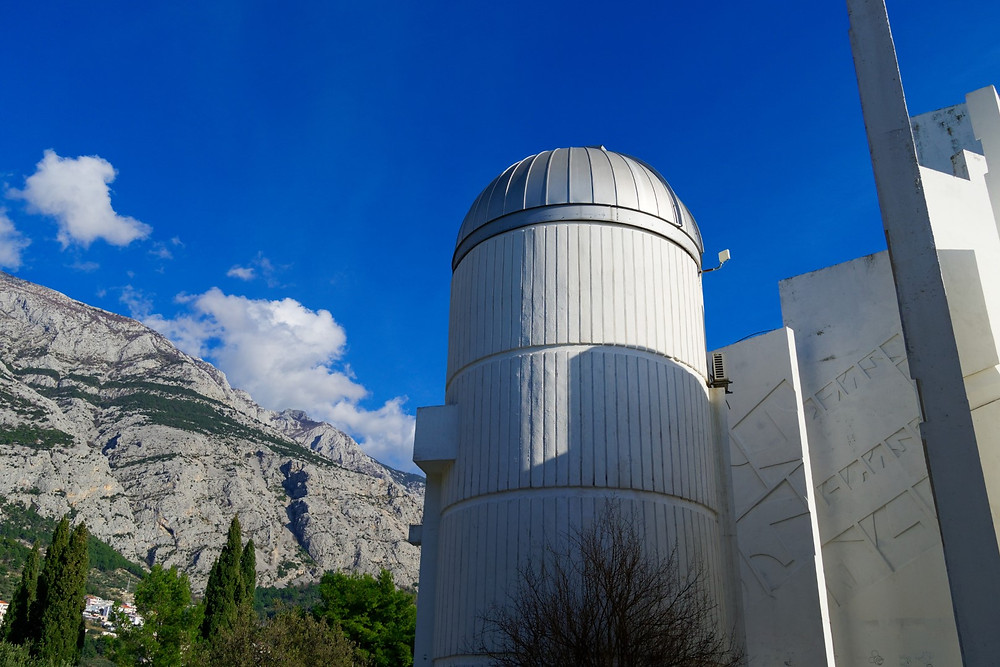 Astro park observatory in Makarska, Croatia is great for kid friendly vacation