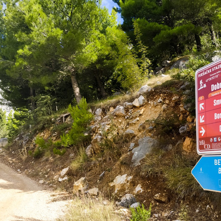 Walking trail: Bast - Makarska