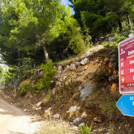 Walking trail: Bast - Makarska
