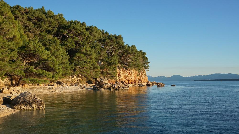 Beaches near Zivogosce offer beauty and rich sealife