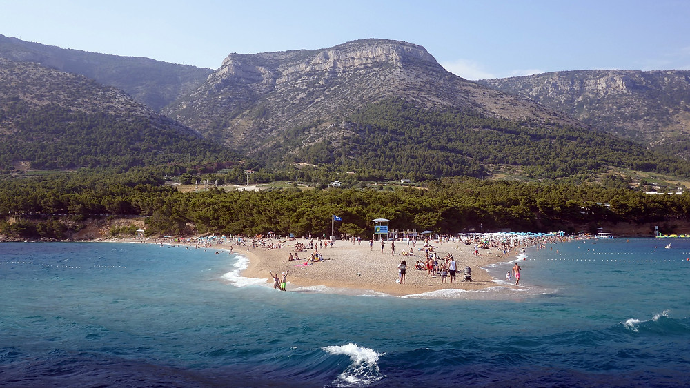 Golden Horn Beach, Bol, Island of Brac, Croatia