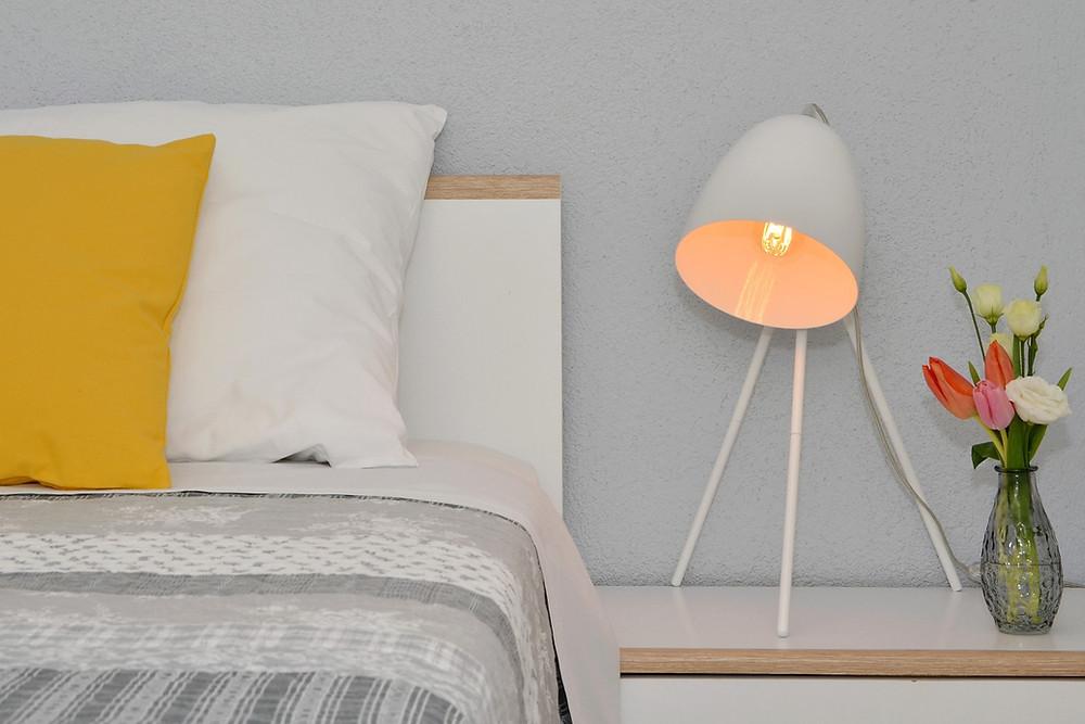 Apartment Arya Makarska bedroom detail