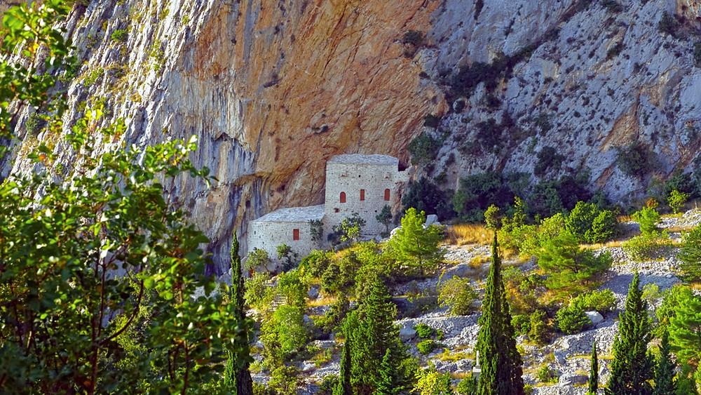 Kotisina Fort in Makarska, Croatia is renovated now