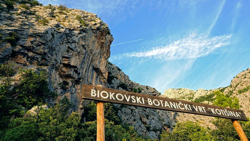 Biokovo botanical garden in Kotisina near Makarska in Croatia is great for nature lovers