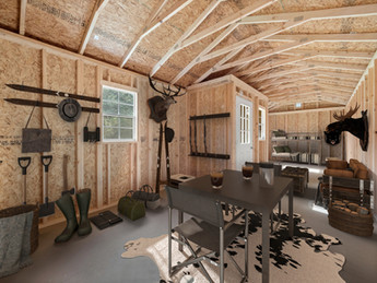 Stor-Mor Center Cabin Interior 1 Hunting