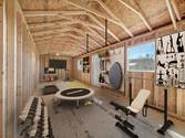 Stor-Mor Garage Interior 3 At Home Gym I